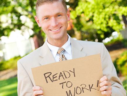 איש מובטל מחפש עבודה (צילום: Sean Locke, GettyImages IL)