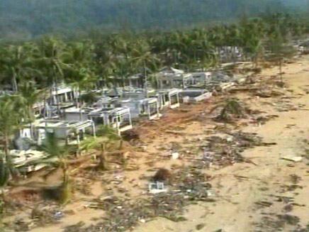 וידאופדיה-צונאמי בתאילנד (צילום: חדשות 2)