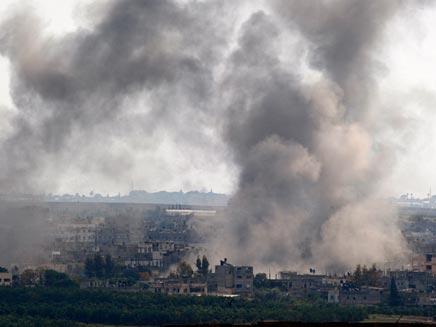 פיצוץ (צילום: חדשות 2)