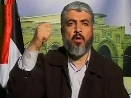 חאלד משעל ביום התקיפה של צהל בעזה (צילום: חדשות 2)