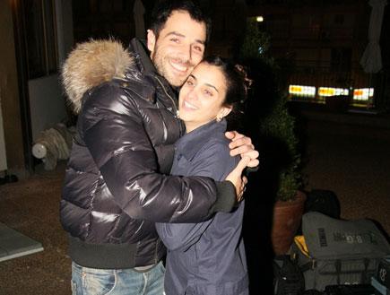 גיא אריאלי ונעמה גבעתי, הופעה של שרי גבעתי (צילום: אלעד דיין)