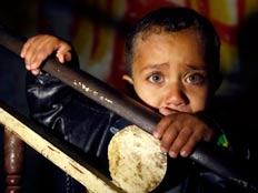1 מכל 3 ילדים: עני (צילום: רויטרס)