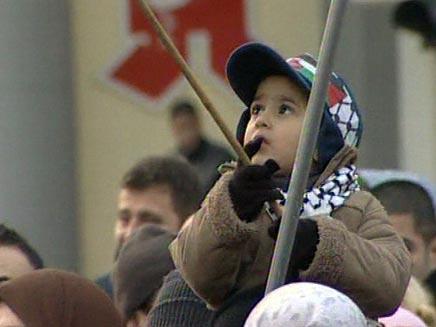 הפגנות בעולם נגד פעולות צהל בעזה (צילום: חדשות 2)