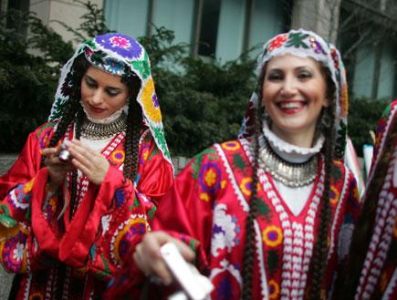חגיגות ראש השנה האירני (צילום: Mario Tama, GettyImages IL)