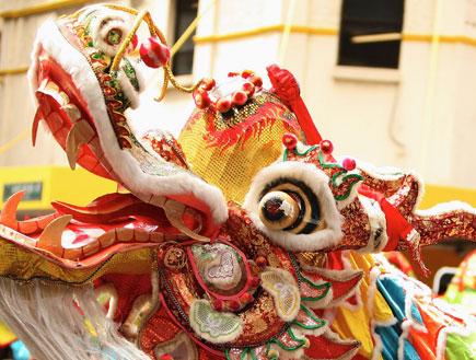 דרקונים בסין (צילום: Graham Denholm, GettyImages IL)