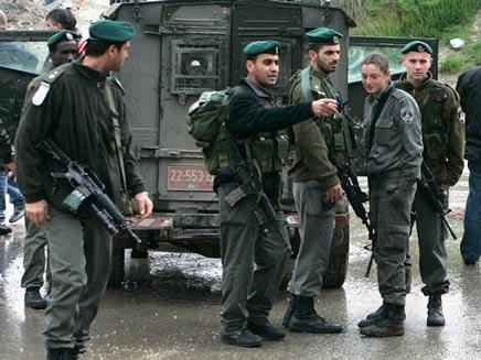 """שוטרי מג""""ב בירושלים. צילום ארכיון (צילום: רויטרס)"""