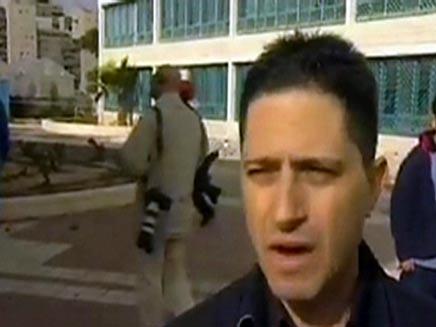 """לא מוכנים למודל שדרות"""", דנילוביץ' (צילום: חדשות 2)"""