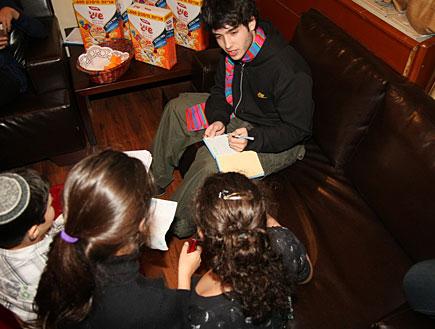 ישראל בראון, מפגש פסטיבל שירי ילדים (צילום: אלעד דיין)
