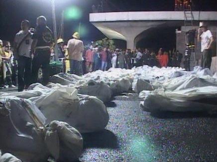 הרוגים במסיבת סילבסטר (צילום: חדשות2)