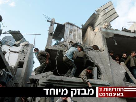 מלחמה בחמאס (צילום: רויטרס)