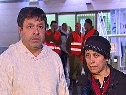הורי הפצועים מדברים (תמונת AVI: חדשות)