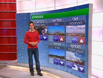 הטמפרטורות נמוכות: קר מאוד (תמונת AVI: חדשות)