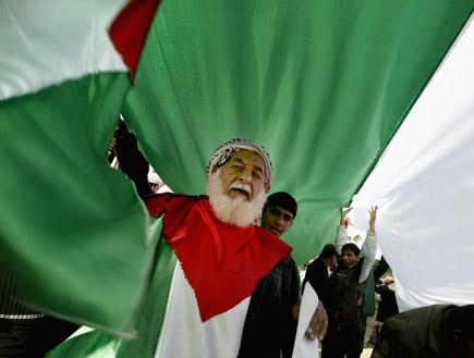 הפגנה נגד ישראל (צילום: Wathiq Khuzaie, GettyImages IL)