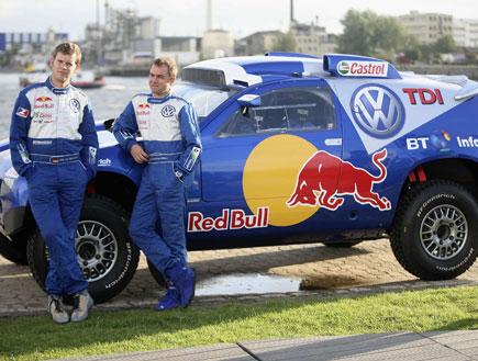 רכב במרוץ ראלי דאקר (צילום: Lutz Bongarts, GettyImages IL)