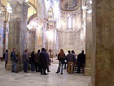 טיולים בהרי ירושלים: מנזר בנדיקטי באבו גוש (צילום: איל שפירא)