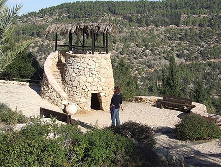 """טיולים בהרי ירושלים: הגן התנ""""כי של יד השמונה (צילום: איל שפירא)"""