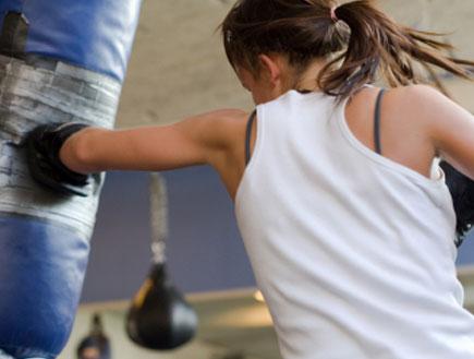 אישה מתאגרפת (צילום: Birgitte Magnus, Istock)