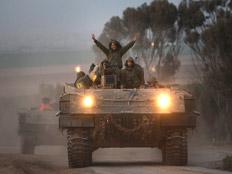 """חיילי צה""""ל ברצועת עזה (צילום: אימג'בנק gettyimages)"""