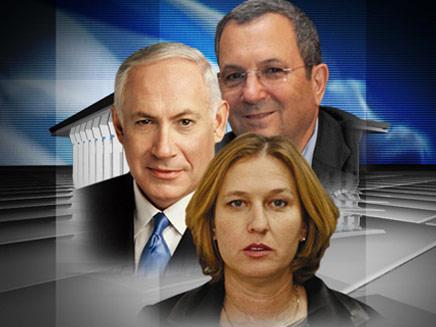 שלושת המועמדים המובילים לבחירות ממשלה  ציפי לבני, (צילום: החדשות 2)