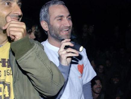 אלי פיניש, מריאנו אידלמן, שלישיית מה קשור ורמי ורד (צילום: mako)