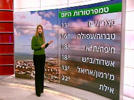 תמונה לפלייר מגישה אילנית אדלר (צילום: חדשות 2)