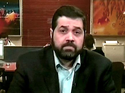 אוסמה חמדאן בכיר חמאס בדמשק (צילום: חדשות 2)