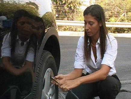 לחץ אויר בגלגלים (וידאו WMV: עדי רם)