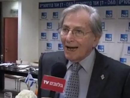"""אלי הורביץ יו""""ר טבע (תמונת AVI: גלובס TV)"""