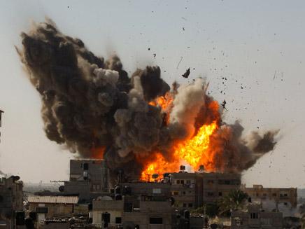 100 טון של חומר נפץ בנגב. צילום אילוסטרציה (צילום: רויטרס)