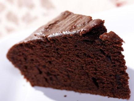 פרוסת עוגת שוקולד (צילום: istockphoto)