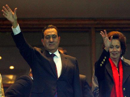 מובראק בימיו האחרונים כנשיא (צילום: רויטרס)