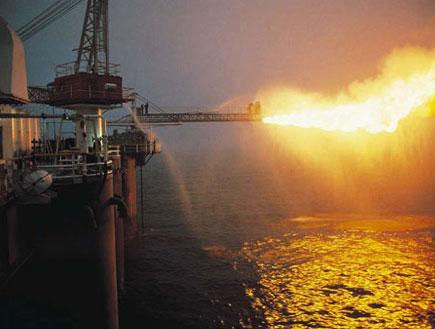 אסדת גז (צילום: Stockbyte, GettyImages IL)