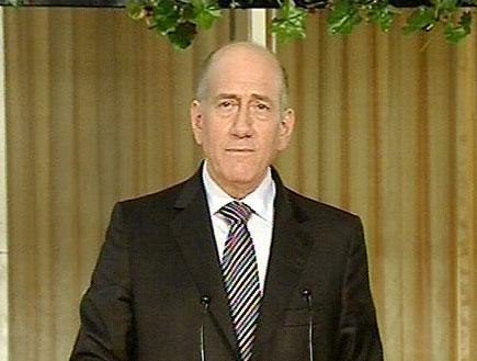 אולמרט מודה למנהיגי אירופה (תמונת AVI: חדשות)