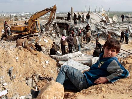 פלסטינים. אילוסטרציה (צילום: רויטרס)