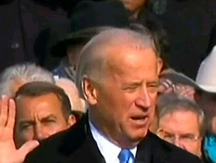 ג'ו ביידן מושבע (תמונת AVI: חדשות)