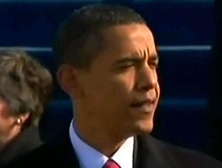 אובמה נואם לאומה (תמונת AVI: חדשות)