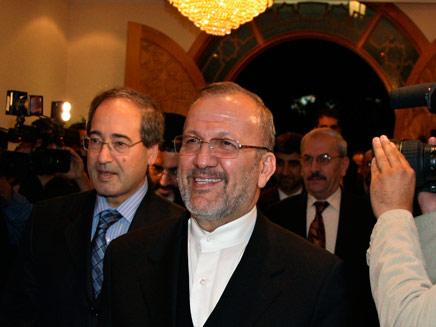 שר החוץ האירני (צילום: חדשות 2)