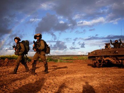 """כוחות צה""""ל בגבול עזה, ארכיון (צילום: דובר צהל)"""