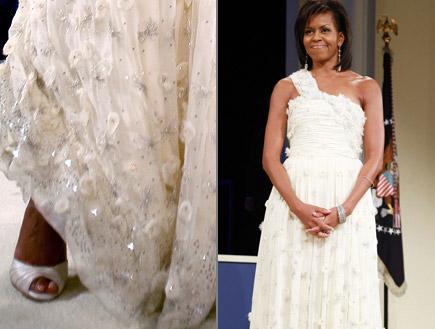 מישל אובמה בשמלה של ג'ייסון וו (צילום: Ronald Sachs, GettyImages IL)