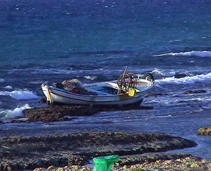 ספינת הדיג התהפכה בלב ים. אילוסטרציה (צילום: ארכיון חדשות 2)