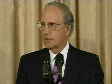 השליח המיוחד למזרח התיכון, ג'ורג' מיטשל (צילום: חדשות 2)