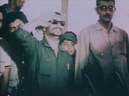 יאסר עראפת מגיע לג'נין (צילום: חדשות 2)