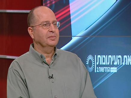 משה בוגי יעלון מתארח בפגוש את העיתונות (צילום: חדשות2)