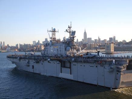 ספינת צי אמריקנית, ארכיון (צילום: אימג'בנק - gettyimages)
