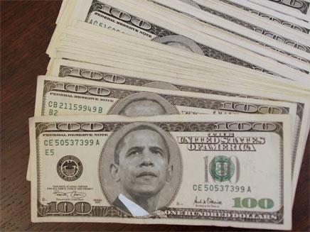 אובמה נותן תמריצים לכלכלה האמריקנית (צילום: חדשות 2 - עיבוד מחשב)