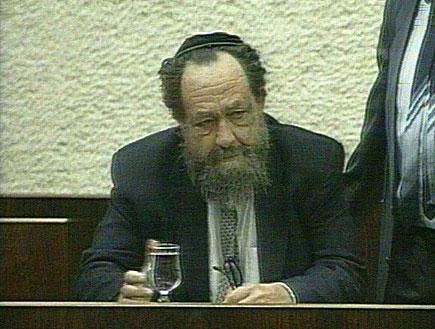 רביץ - פוליטיקאי מהסוג הישן (תמונת AVI: חדשות)