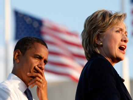 לא תהיה נשיאה, למרות הכל. הילרי ואובמה (צילום: רויטרס)