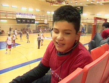 כדורסל: סיפור שמחמם את הלב (תמונת AVI: חדשות)