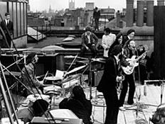 הביטלס על הגג 1, the beatles on the roof (צילום: Express, GettyImages IL)