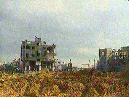 """האו""""ם: הנזק ברצועה - כחצי מליארד דולר (תמונת AVI: חדשות)"""